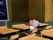 Little Mouse School - Tuffy looking