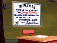 Little Mouse School - Jerry's diploma