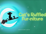 Cat's Ruffled Fur-niture