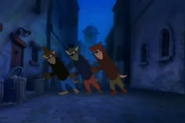 Tom and Jerry The Movie - Three Alley Cats mockingly
