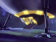 Outer Space Rover - UFO ship on land