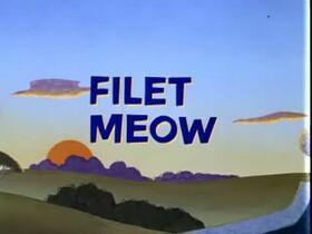 Filet Meow Title Screen