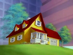 Tom and Jerry's house in Tom and Jerry movie