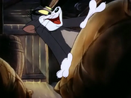 Fine Feathered Friend - Tom watching Jerry getting cheese