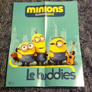 Minions Le Buddies Poster