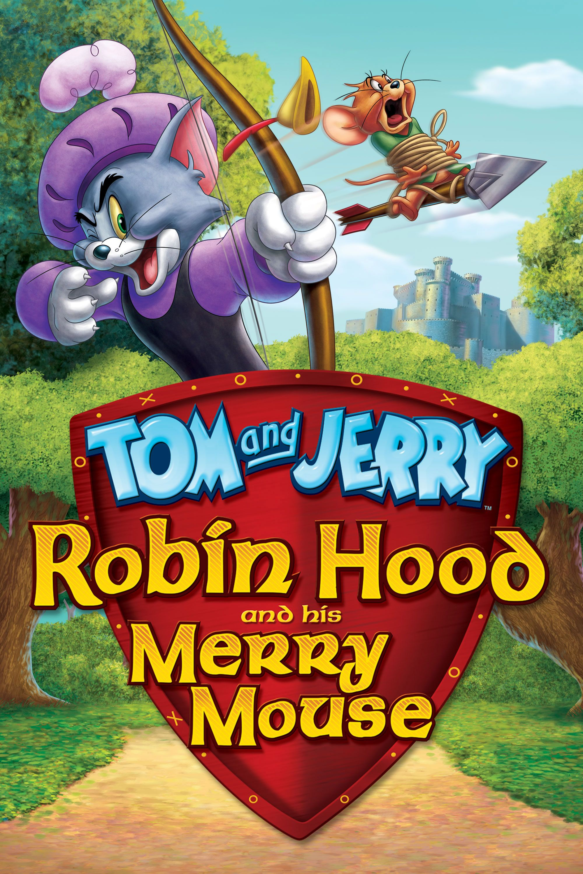 Tom and Jerry Robin Hood and His Merry Mouse cover