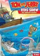 Tom & Jerry Kids Show Season 1 DVD Cover