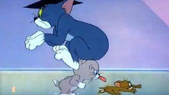 Tom & Jerry Classic Cartoon Professor Tom