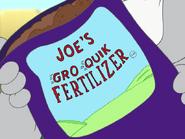 Game Set Match - Joe's Gro Quik Fertilizer bag