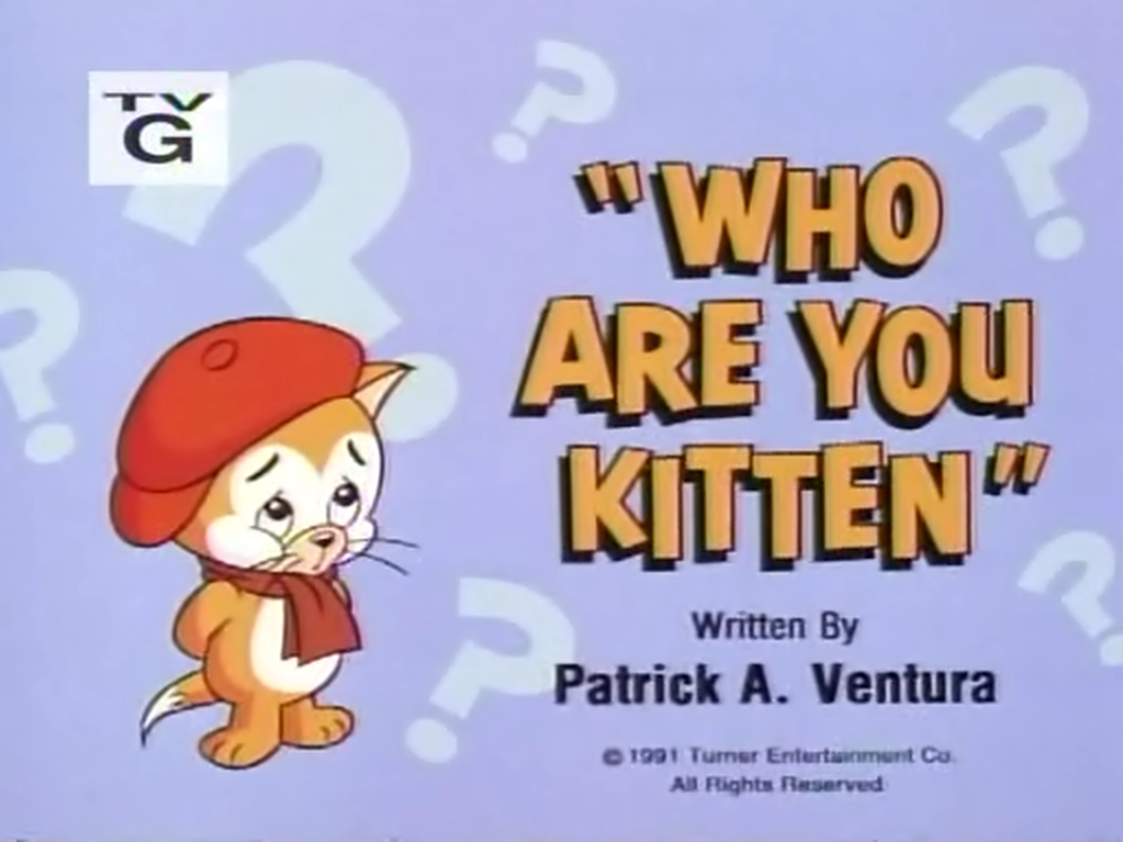 Who Are You Kitten | Tom and Jerry Kids Show Wiki | FANDOM