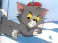 Fraidy Cat - Tom knows about Jerry's taunting