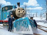 Первый снег для Томаса