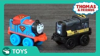 DC Super Friends Minis Comic Con Reveal! DC Super Friends Thomas & Friends