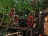 Шасси двора экспериментальных паровозов