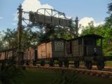 Двор экспериментальных паровозов