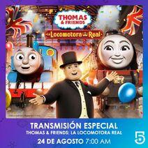 ThomasandTheRoyalEngineLatinAmericanSpanishTVAdvert