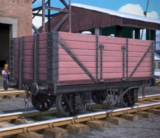 Дощатые вагоны