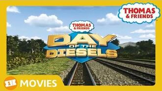 Thomas and Friends UK Day of The Diesels Trailer