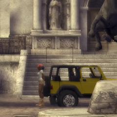 Anaya esperando a Lara