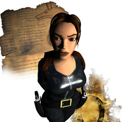 Lara Croft en 2000