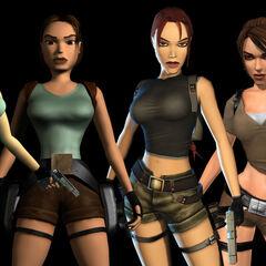Lara Croft en 1996 hasta el presente