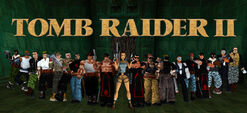 Tomb raider ii collage by rattlehead92-d45q6cq