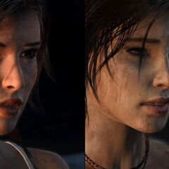 Comparación de Lara antigua (derecha) y Lara nueva (izquierda)