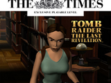 Tomb Raider: The Times Exclusive Bonus Level