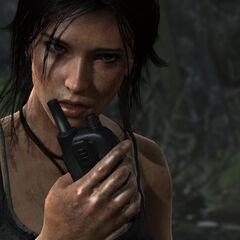 Lara Croft en <a href=