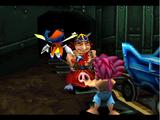 Capture Evil Flame Pig!