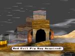 Red Evil Pig Bag