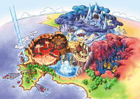 Map of Tomba! 2