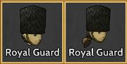 Royal Guard Hat Icons