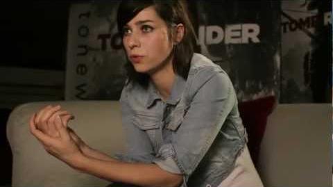 TOMB RAIDER Nora Tschirner spricht Lara Croft Dokumentation