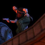 Kurtis With Gun