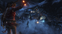 Rise of the Tomb Raider - Screenshot - Sowjetische Station Nachts
