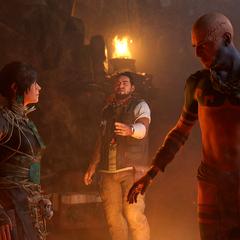 Lara, Jonah et Uchu