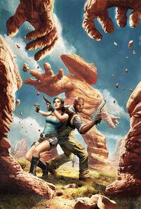 Lara Croft and the Frozen Omen/Выпуск 3