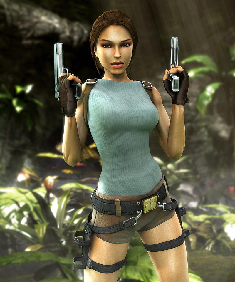 15 Most Sexy Pictures of Lara Croft | GAMERS DECIDE