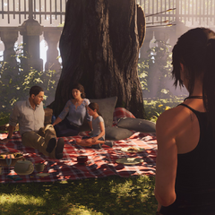 Souvenirs de Lara avec ses parents