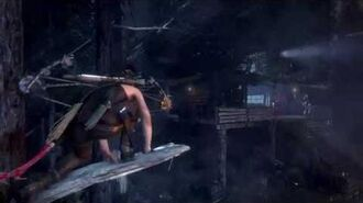 """Rise of the Tomb Raider """"Advancing Storm"""" Stealth Playthrough"""