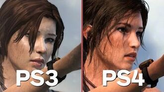Tomb Raider Definitive Edition - PS4 PS3 Comparison and Analysis-0