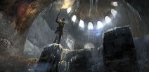 Rise of the Tomb Raider - Artwork - Lara - Grab
