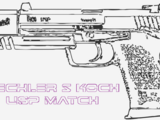 Heckler & Koch USP Match