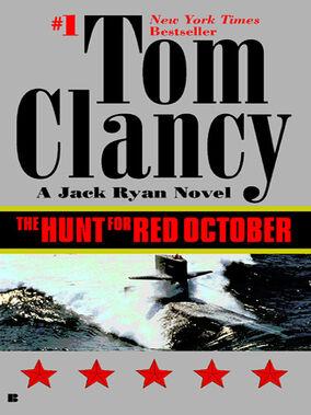 The Hunt for Red October Novel Cover
