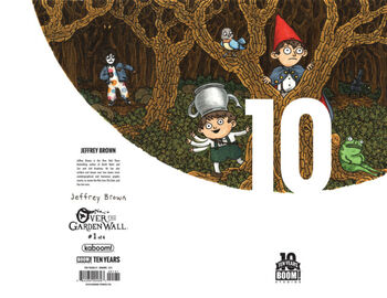 1:10 BOOM! Studios 10 Years Incentive Variant Cover 3