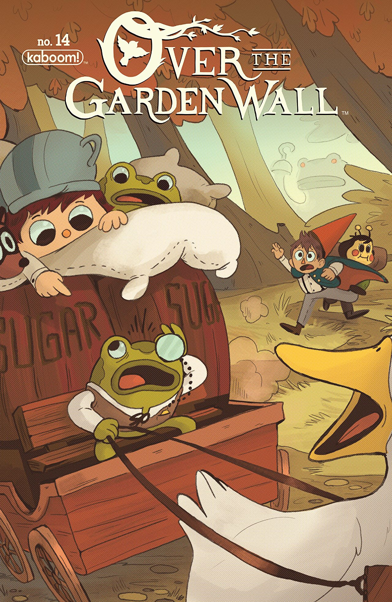 otgw ongoing issue 14jpg - Over The Garden Wall Poster