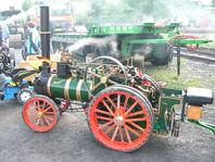Dampftraktoren Mini und Foster 5