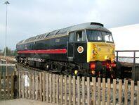 47715 Poseidon British Rail Class 47.7a locomotive - National Railway Museum - York - 2005-10-15