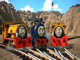Tymek i Tęczowy Wagon